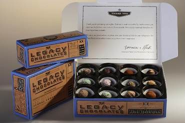 Corporate gift baskets high end chocolate st paul mn for High end client gifts